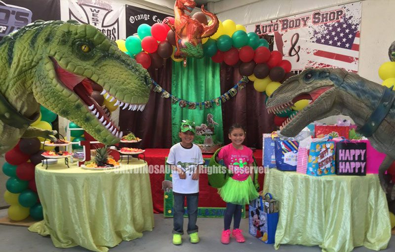 Alive Dinosaur Costume for Birthday Party