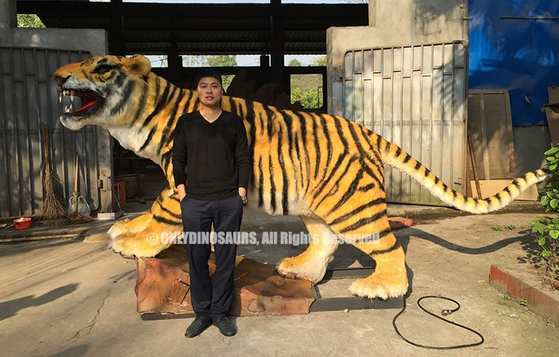 Full Size Animatronic Tiger