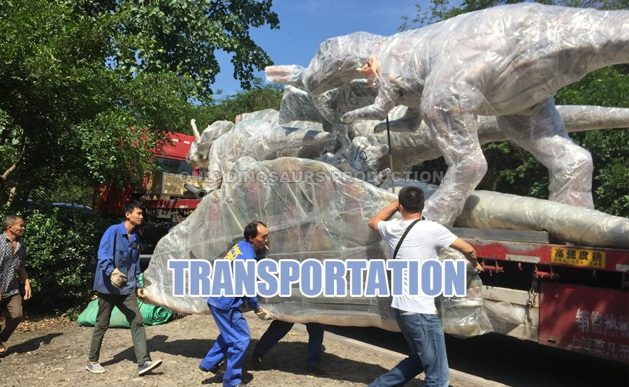 Transport Animatronic T-Rex