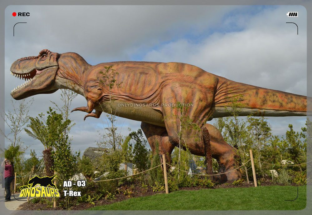 Huge T-Rex Model