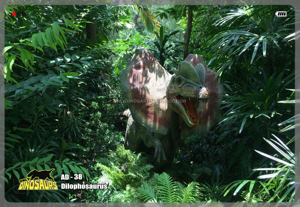 Dilophosaurus Model