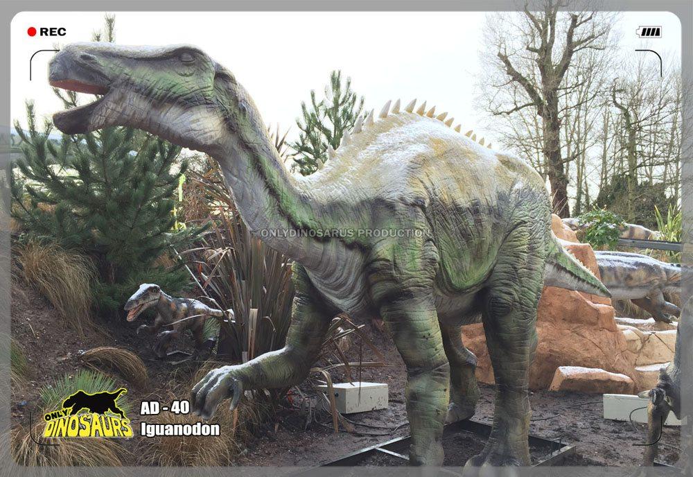 Animatronic Iguanodon