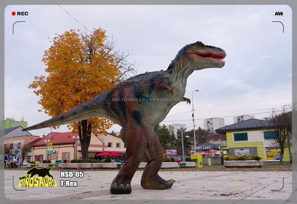 Hidden Legs T-Rex Suit