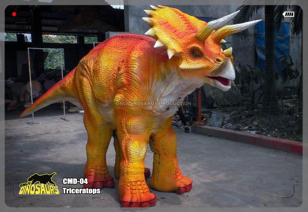 Walking Triceratops Costume