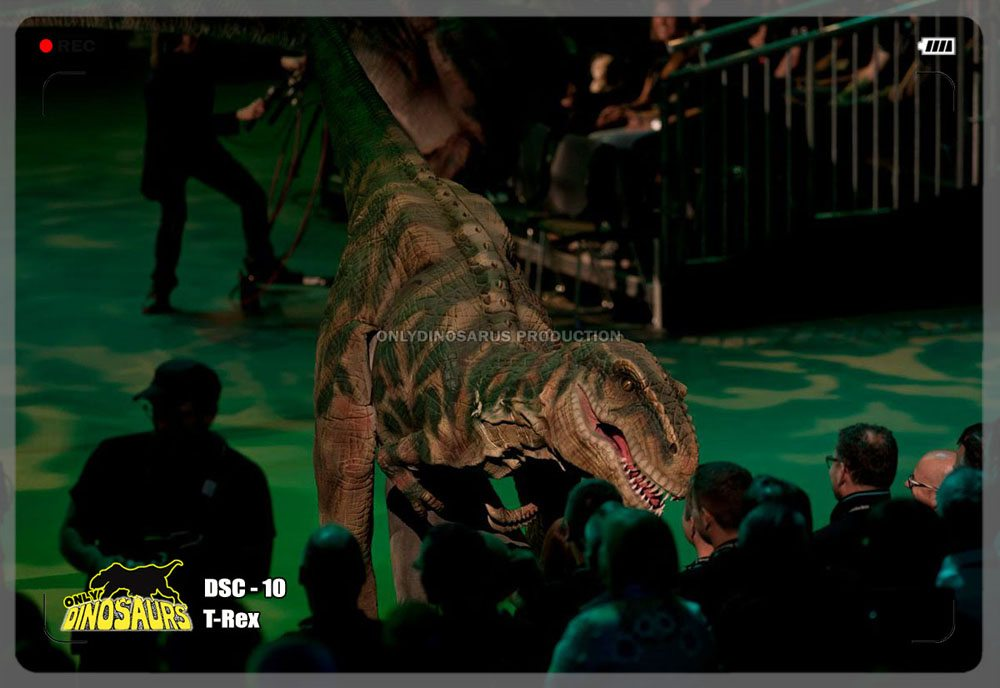 Animatronic T-Rex Outfit