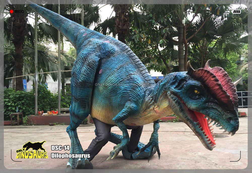 Animatronic Dilophosaurus Suit