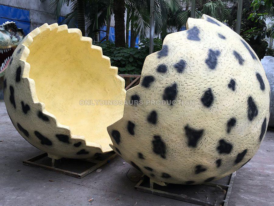 Fiberglass Dinosaur Eggshell