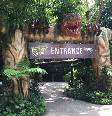 Finished Work-T-Rex Entrance