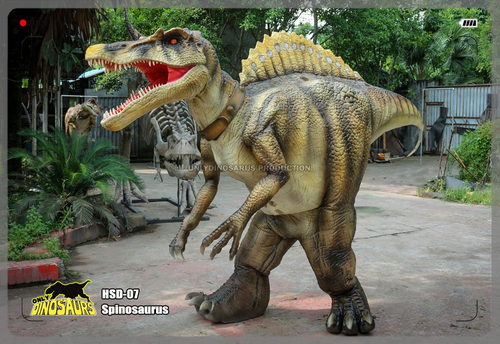 Hidden Legs Spinosaurus Suit