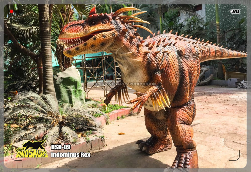 Hidden Legs Indominus Rex Costume
