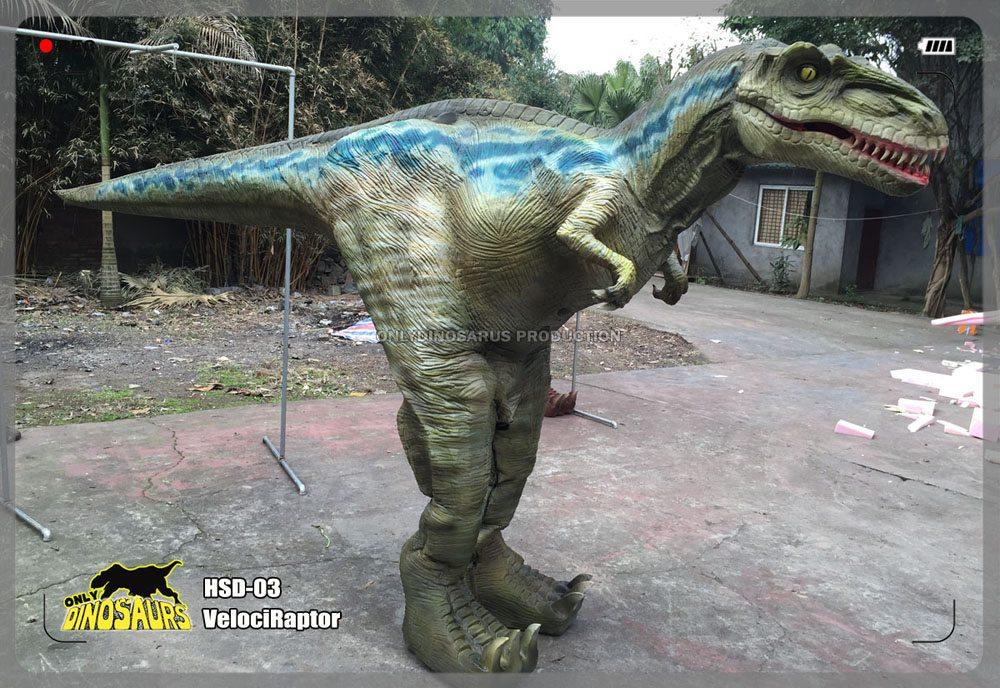 Hidden Legs VelociRaptor Suit