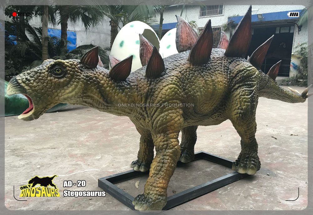 Animatronic Small Stegosaurus