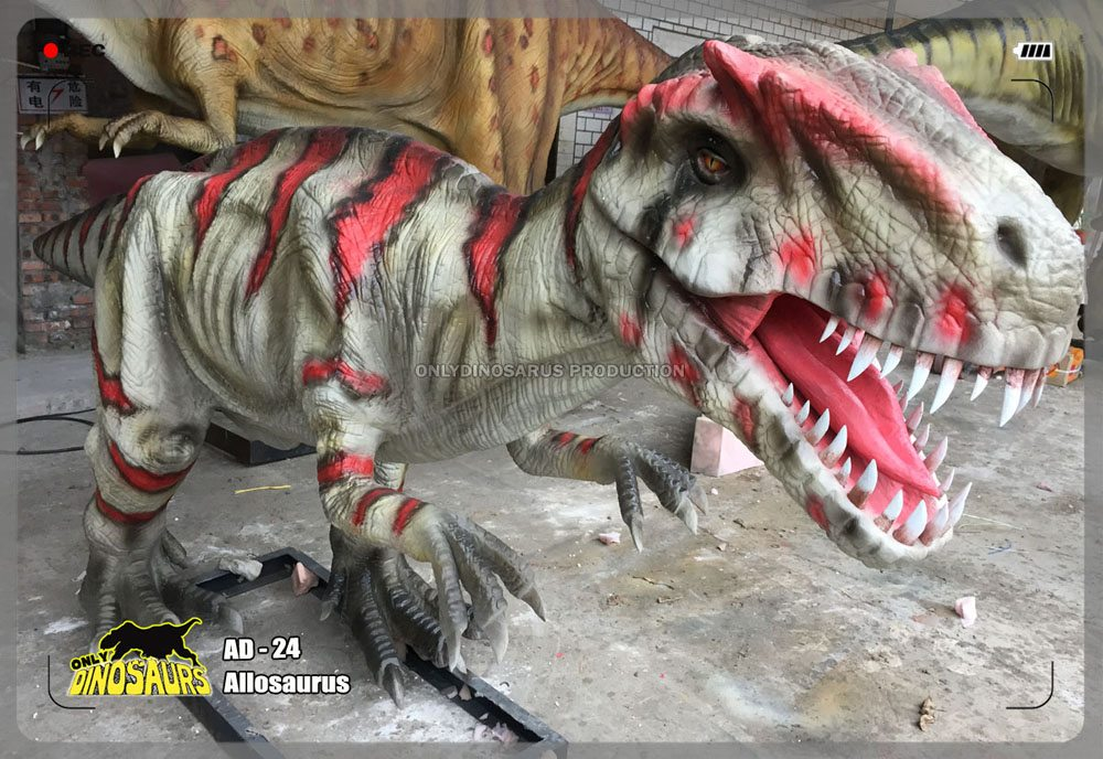 Mini Allosaurus Model