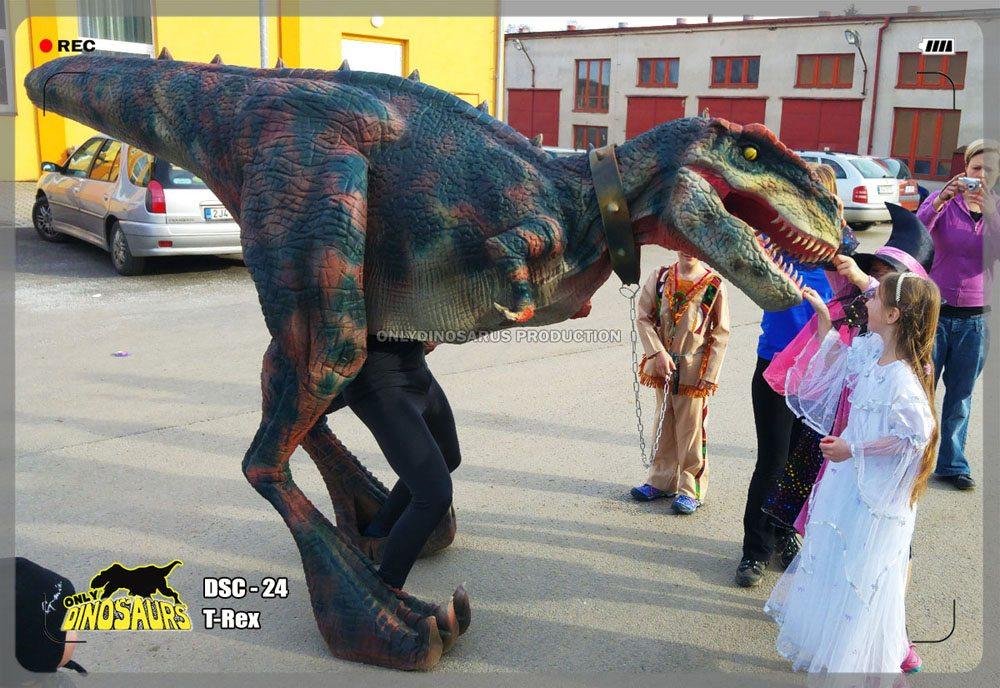 Super Dinosaur Rex Suit