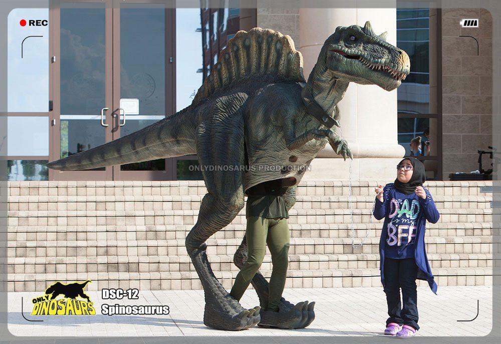Walking Spinosaurus Costume