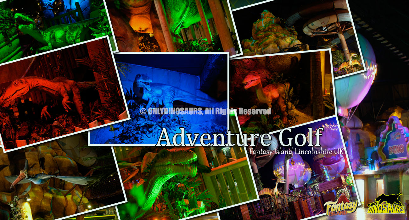Adventure Golf - Fantasy Island Lincolnshire UK