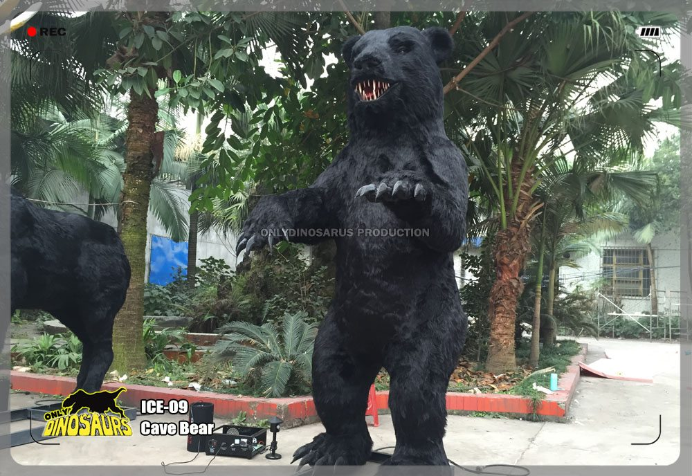 Animatronic Cave Bear