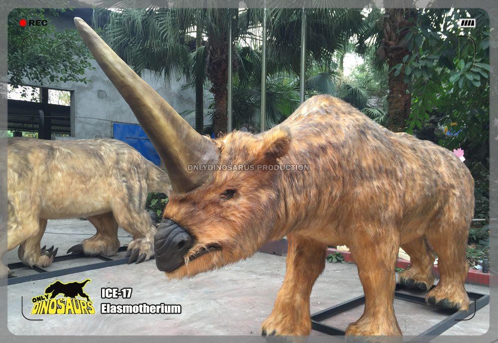 Ice Age Elasmotherium Model