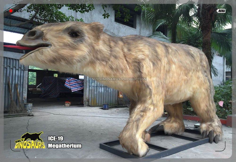 Ice Age Megatherium Model