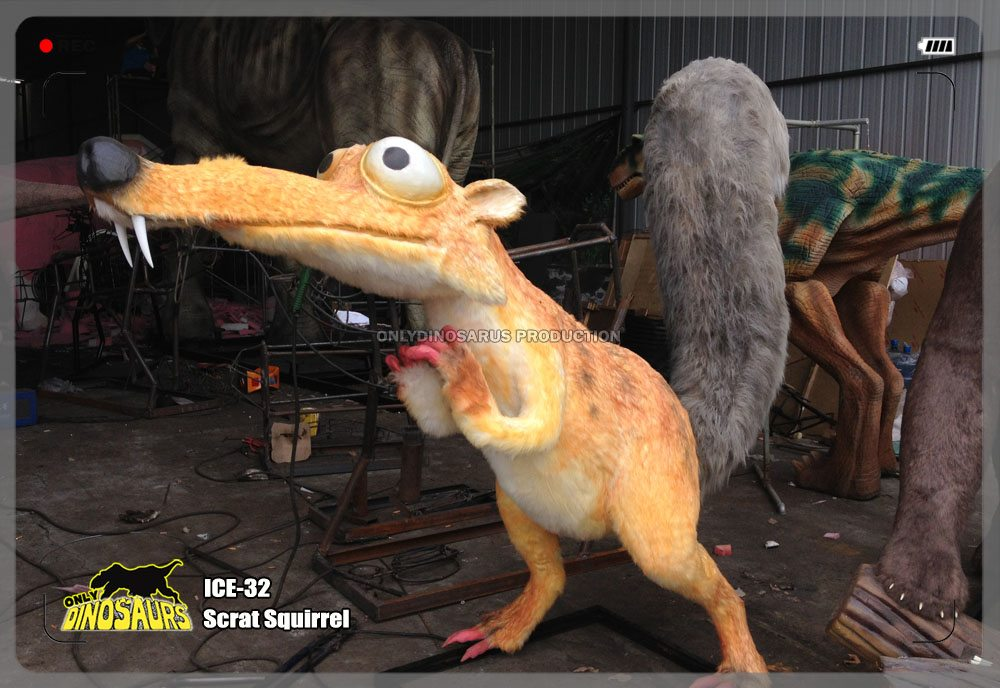 Animatronic Scrat Squirrel