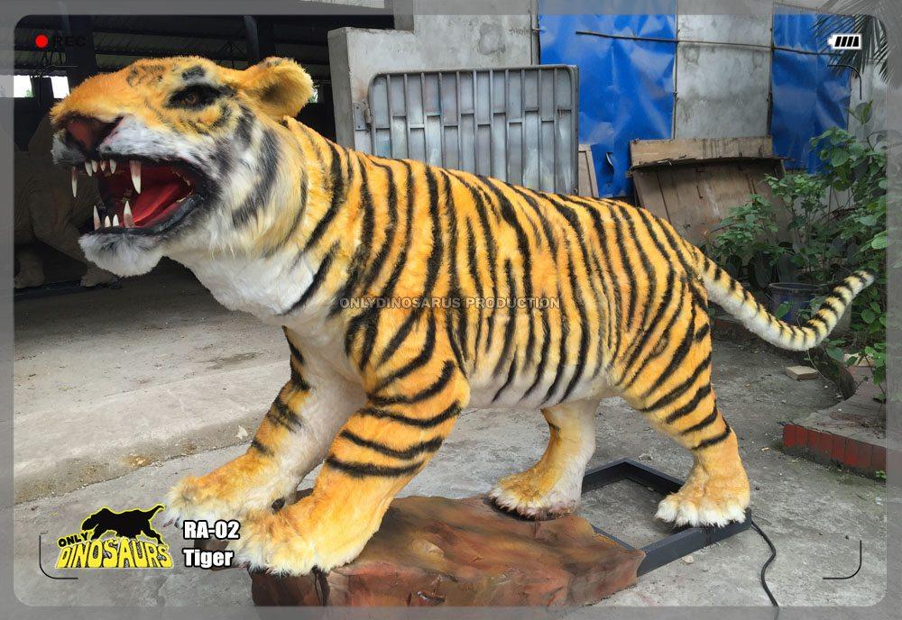 Life Size Tiger Model