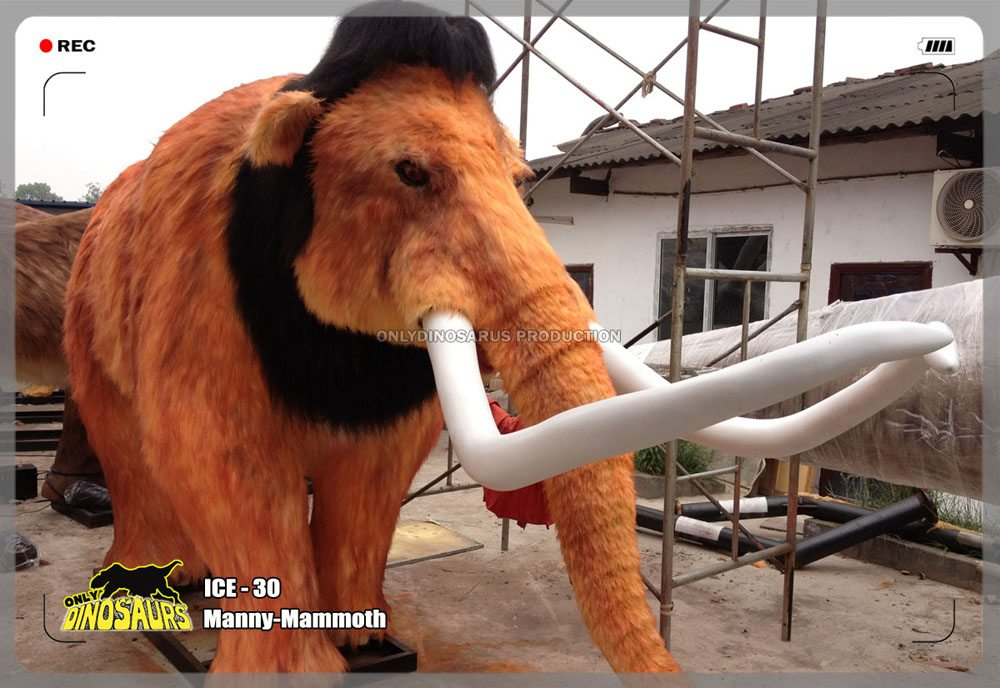 Animatronic Cartoon Mammoth