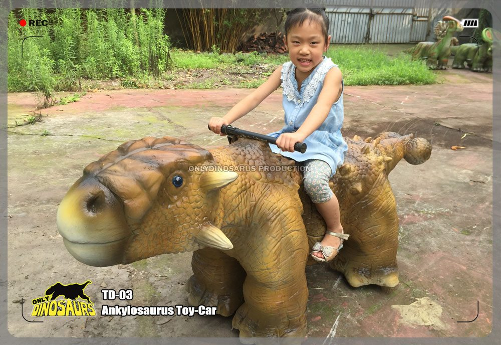 Ankylosaurus Toy Car