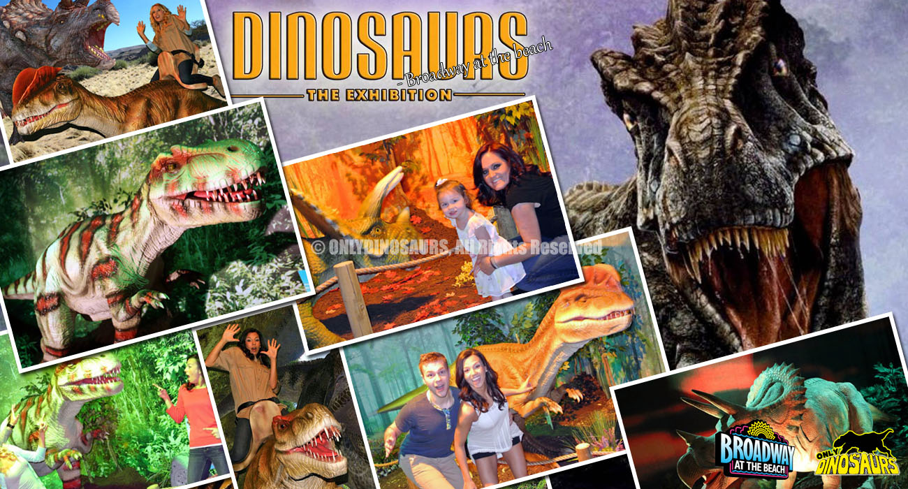 Broadway Dinosaurs Exhibition, South Carolina, USA