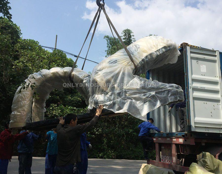Deliver Fiberglass Dinosaur