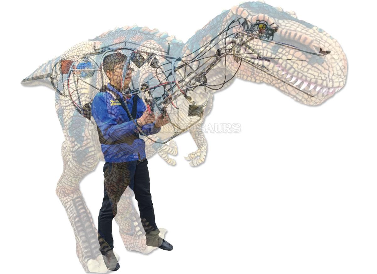 Dinosaur Costume Operation