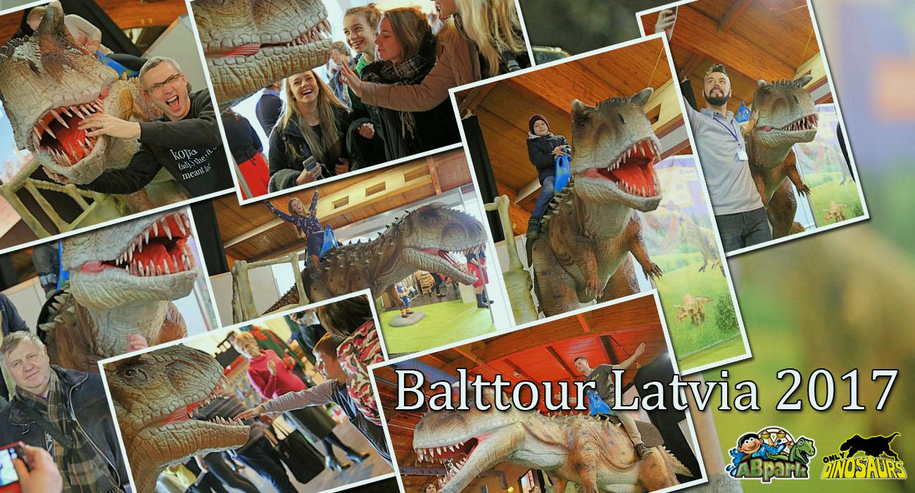 Animatronic Dinosaur Project in Latvia