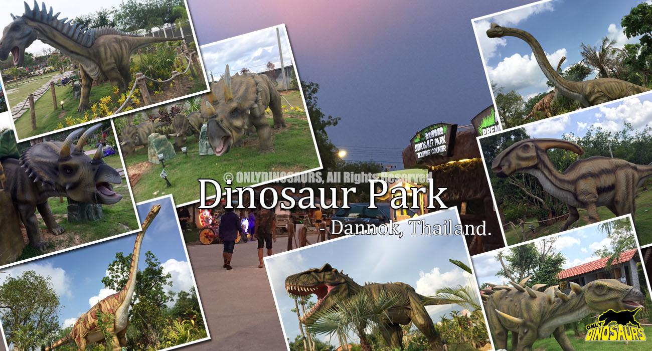 Dinosaur Park in Thailand