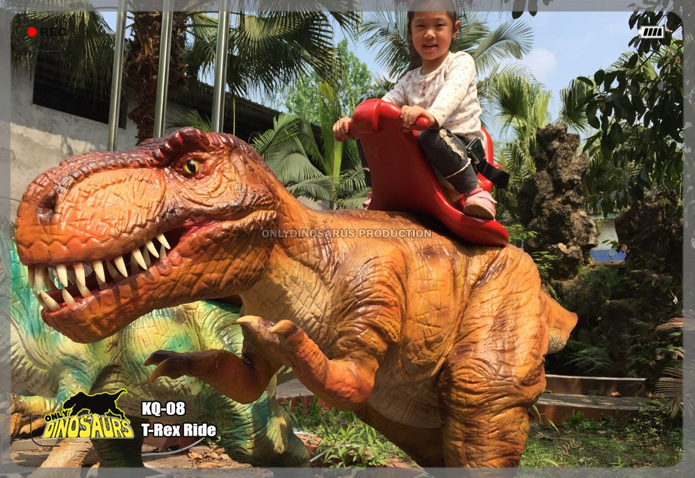 Interactive T-Rex Ride