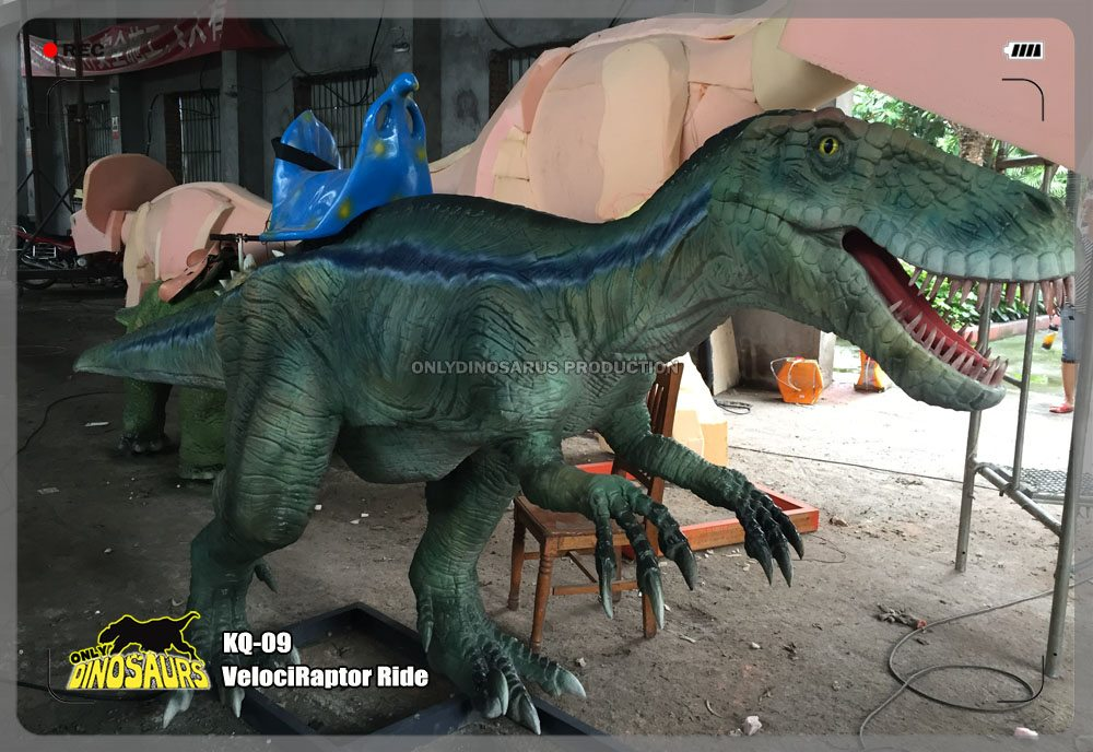 Interactive VelociRaptor Ride