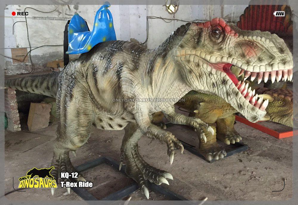 Robotic T-Rex Ride