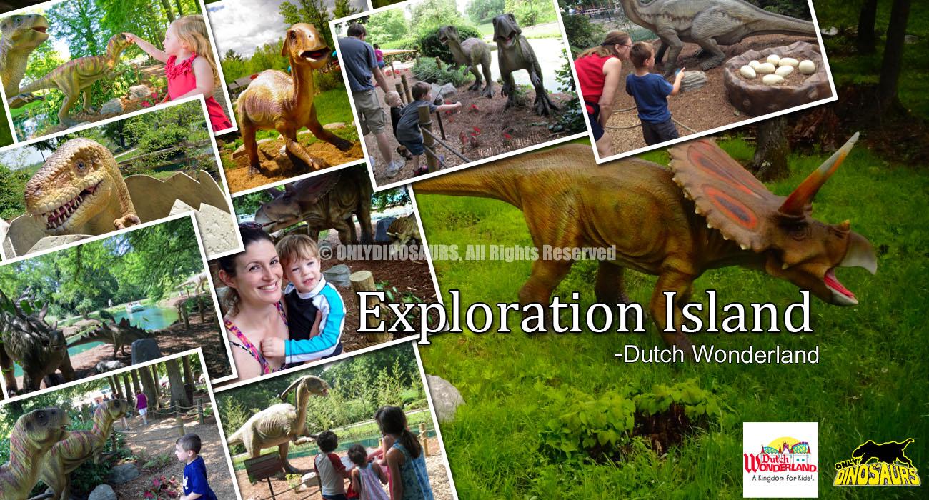 Exploration Island at Dutch Wonderland, USA
