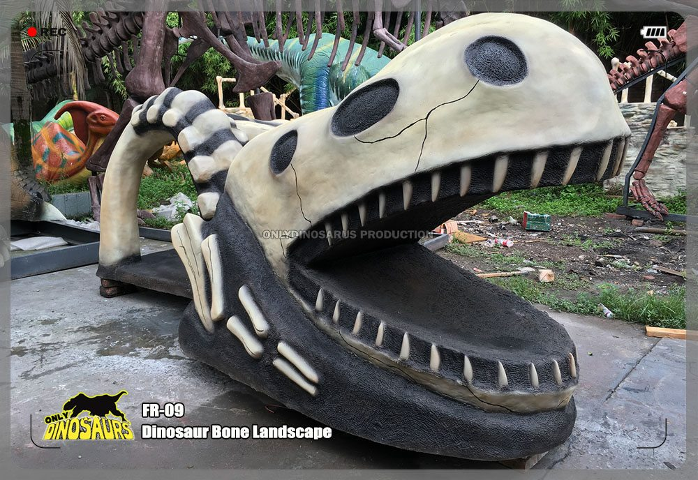 Fiberglass Dinosaur Bone