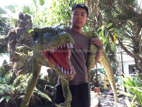 Hand Control Raptor Puppet