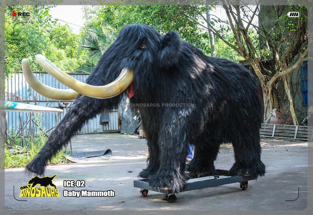 Ice Age Animatronic Baby Mammoth
