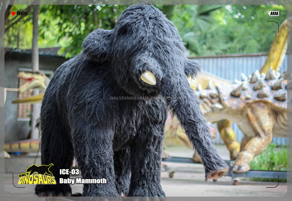 Animatronic Baby Mammoth