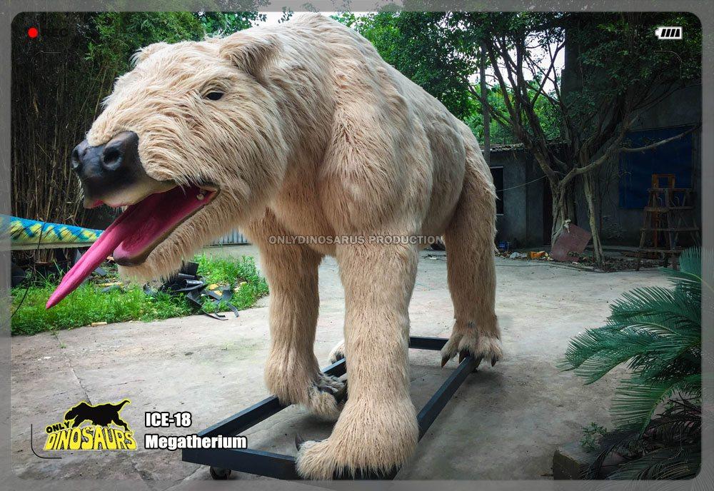 Animatronic Megatherium