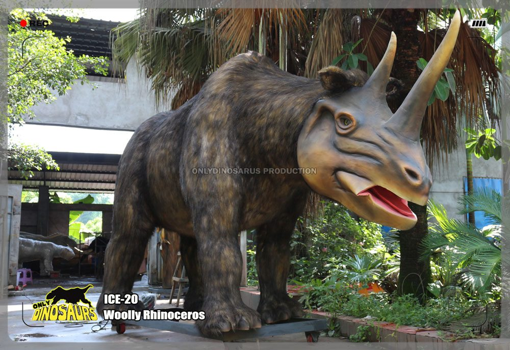 Animatronic Woolly Rhinoceros