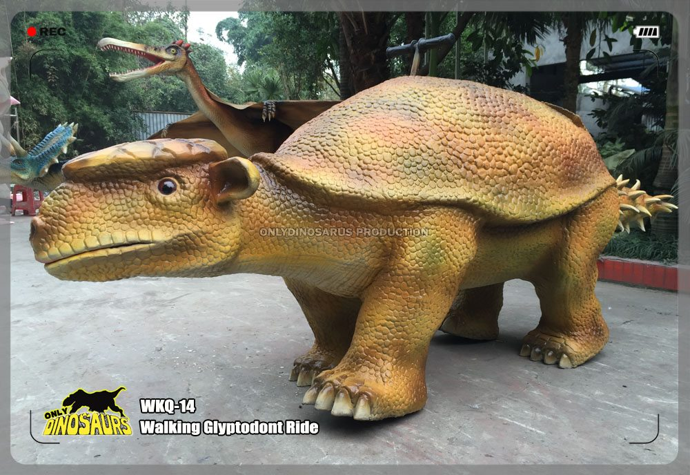 Walking Glyptodont Ride