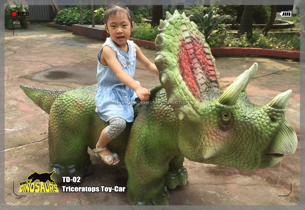 Triceratops Toy Car