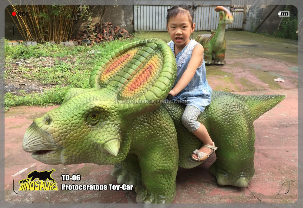 Protoceratops Toy-Car