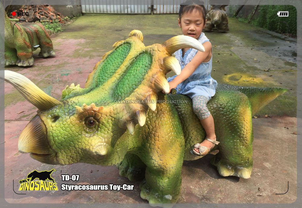 Styracosaurus Toy-Car