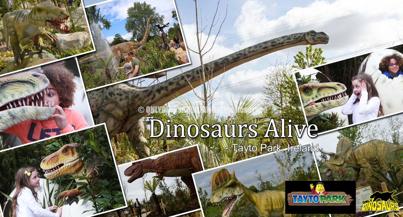 Tayto Park Dinosaurs Alive Ireland