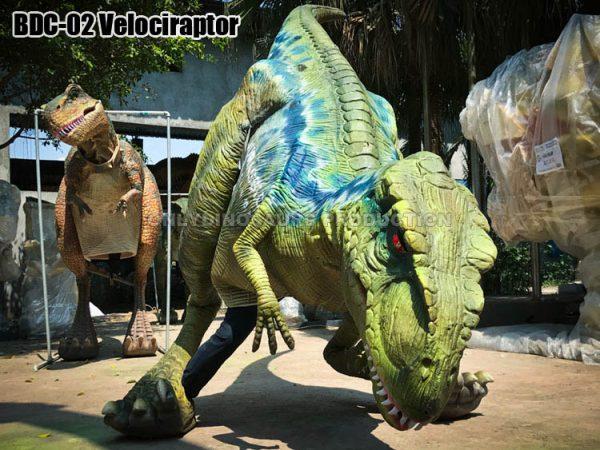 Walking Velociraptor Costume