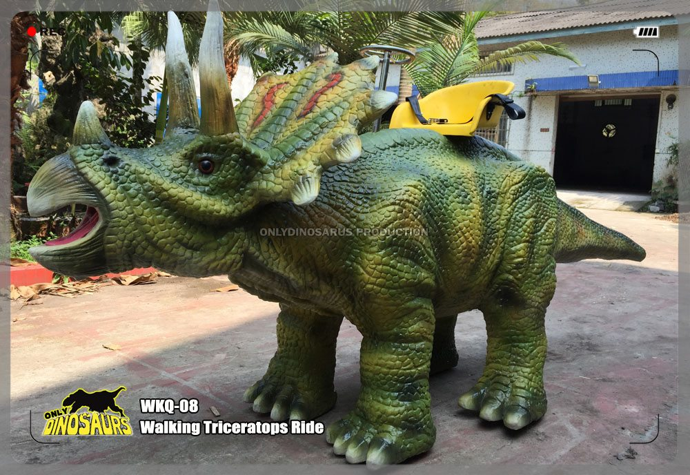 Walking Triceratops Ride