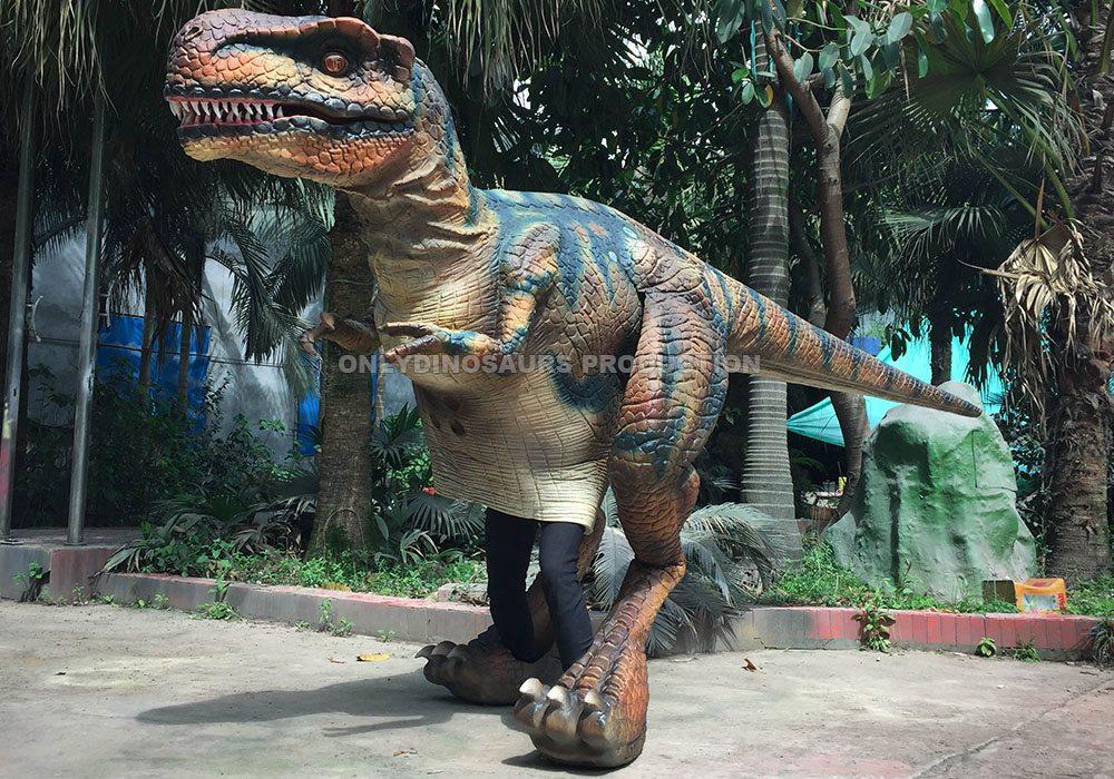 Black Animatronic T-Rex Suit